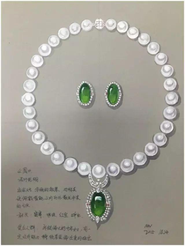 6月22日-29日 珠宝首饰手绘技法课程