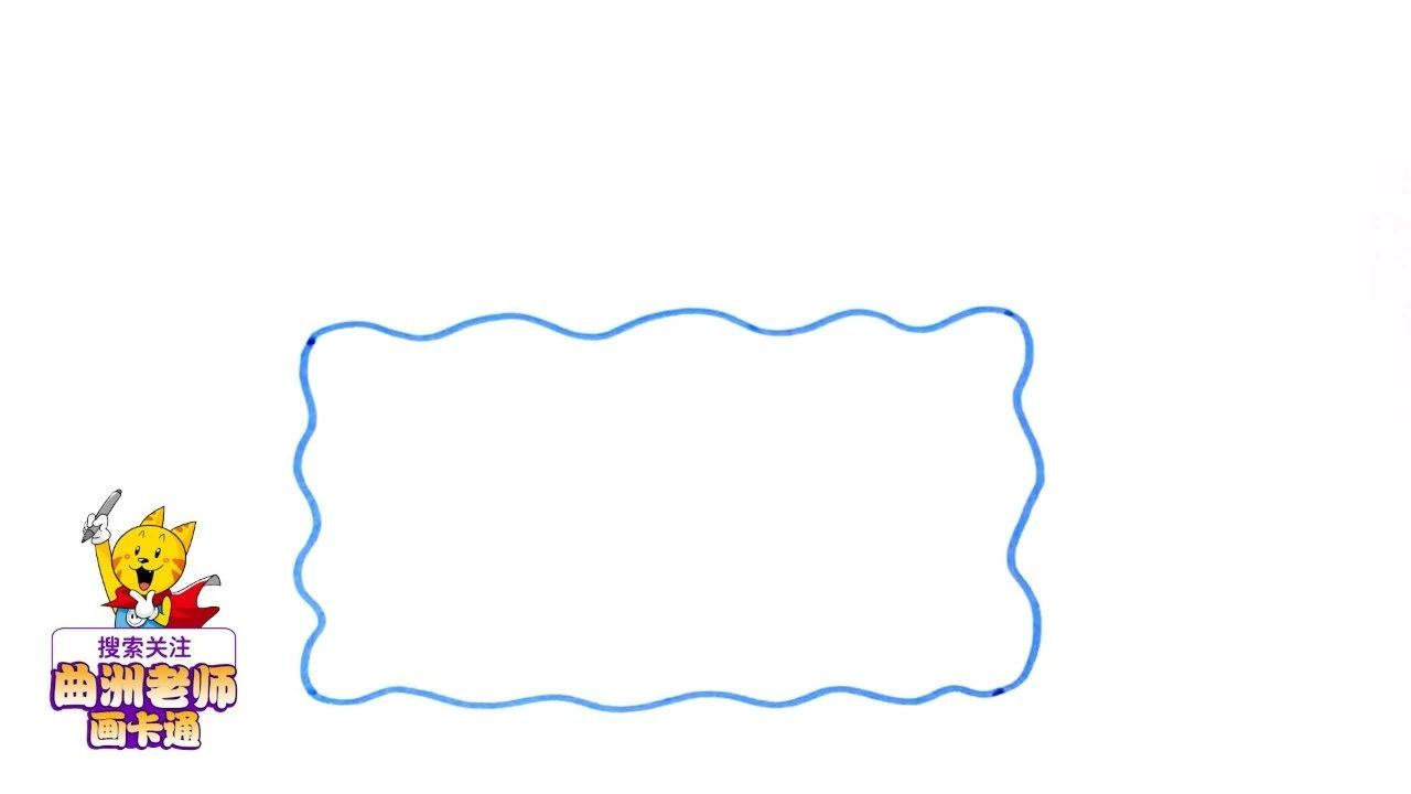 一分钟教孩子画出两款防溺水手抄报边框,家长不用担心