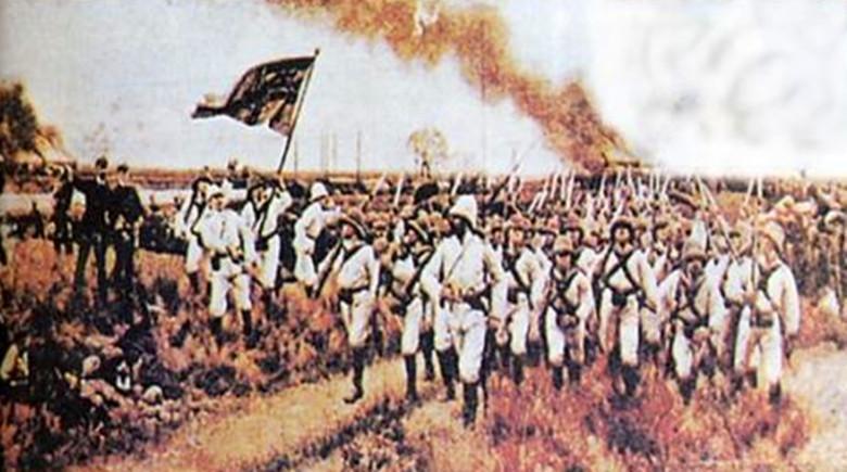 澳门表演八国联军_八国联军侵华时有一支神秘军队,会说汉语,后被英国