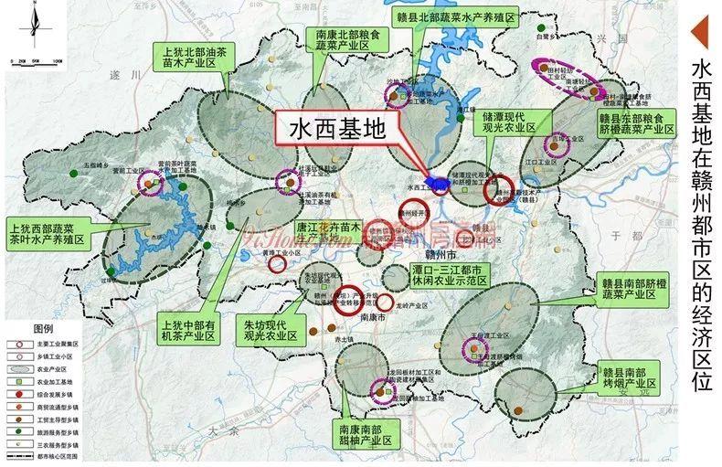 《赣州市水西产业基地控制性详细规划》正式批准实施
