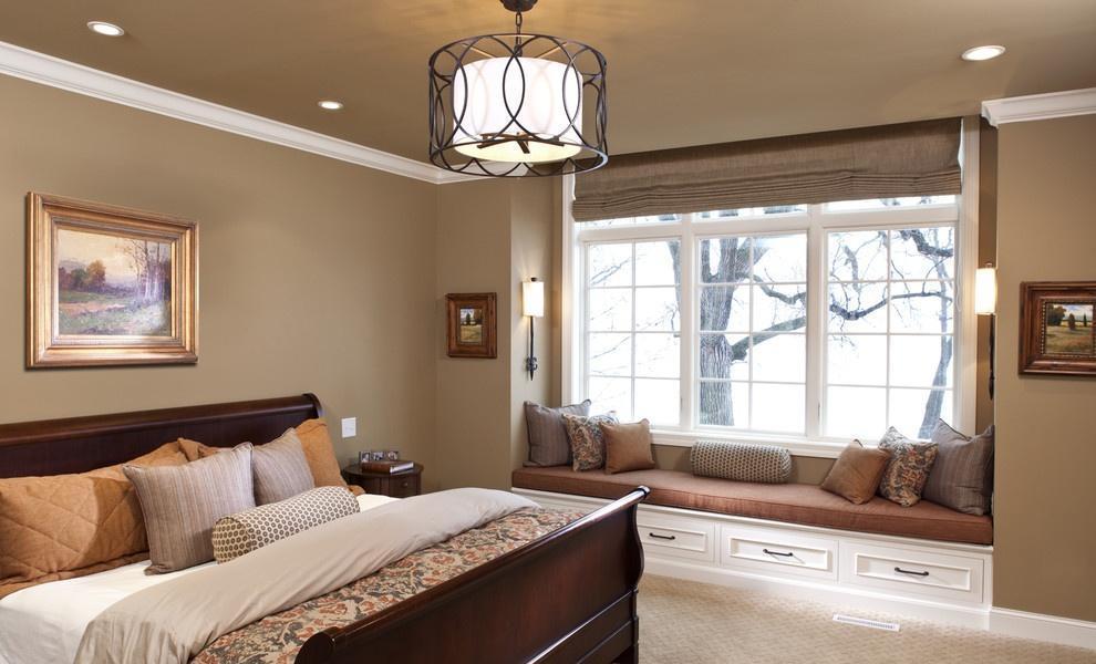 卧室飘窗设计成这样