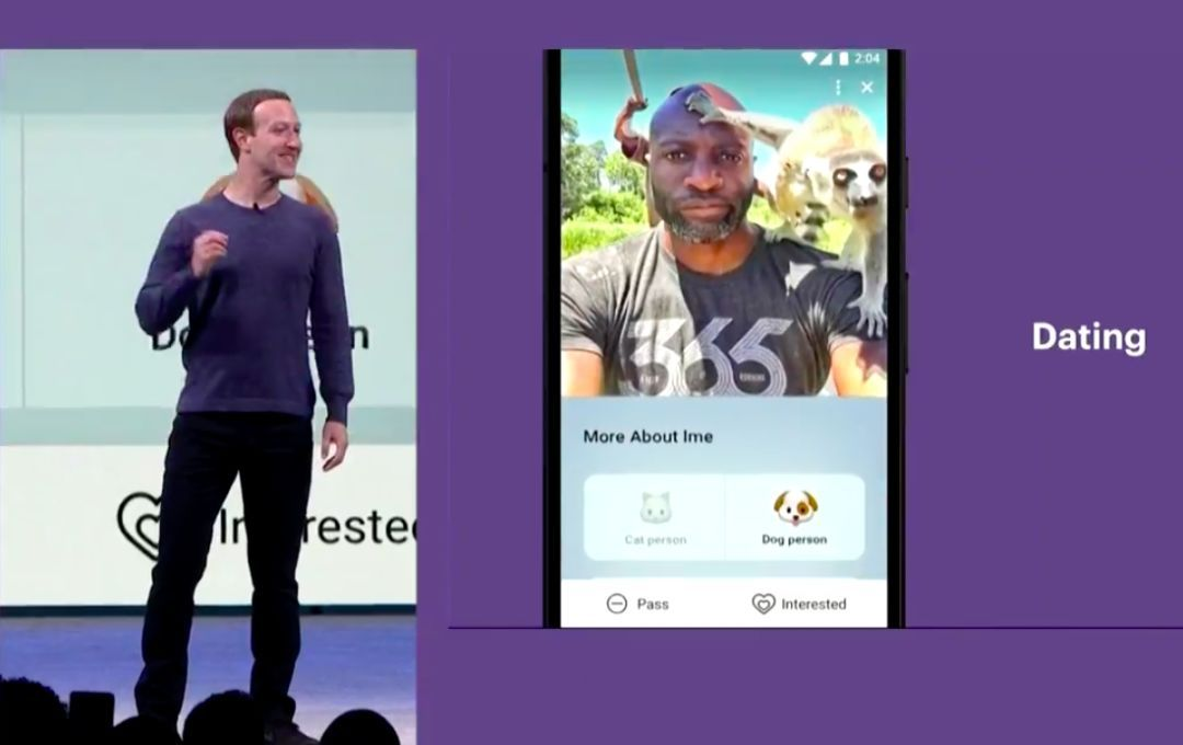 FacebookF8大会:要隐私、要安全、更要女朋友!