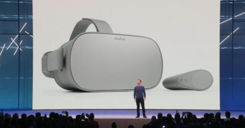 Oculus 发布 VR 一体机 Oculus Go: 中国版夏季开售
