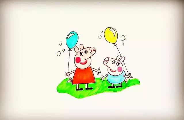 简笔画 教你画小猪佩奇