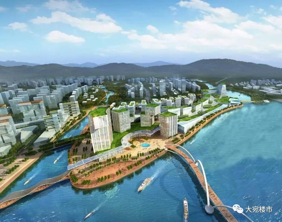 重磅解读 南阳新城区规划透露5处惊人变化