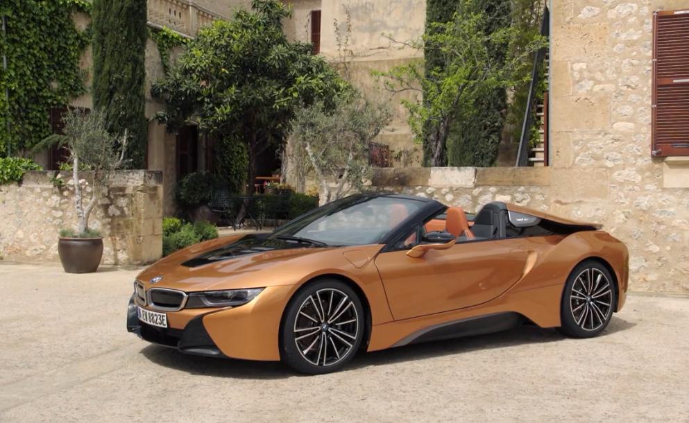 全新宝马i8 Roadster 新车将在2019年上市