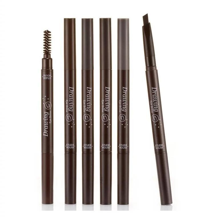 标准眉毛的铅笔画法图
