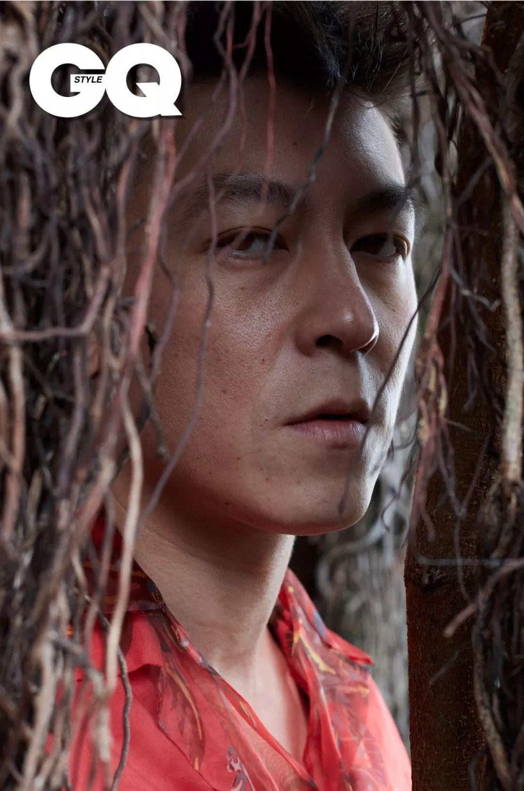 陈冠希为《GQ STYLE》拍了一组秦舒培