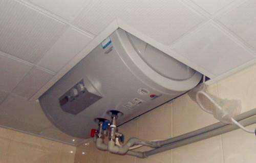 电热水器半隐藏式安装,我家这么做被维修师傅骂惨了图片