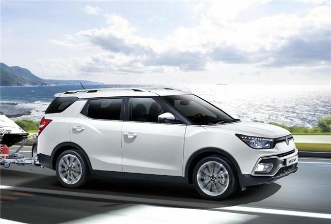 双龙途凌XLV将于2016北京车展上市:预计售14万起_广东快乐十分走