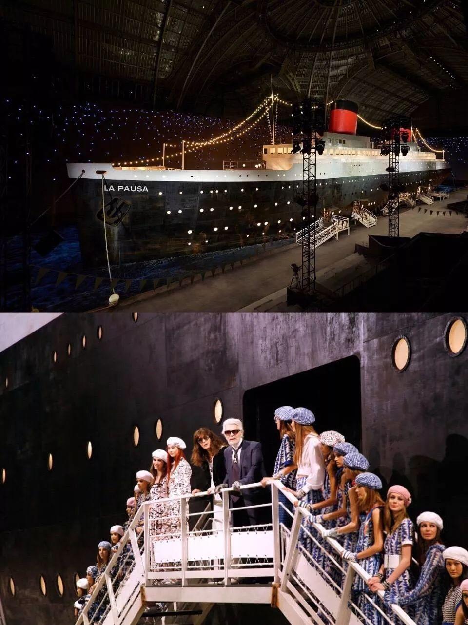 """刘诗诗和陈伟霆上演了一部豪华版""""泰坦尼克号"""",片中穿的都是Chanel…"""