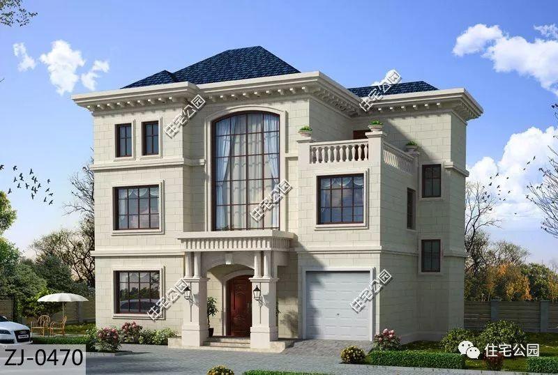 别墅特点:经典简欧式风格,挑空客厅,大车库.