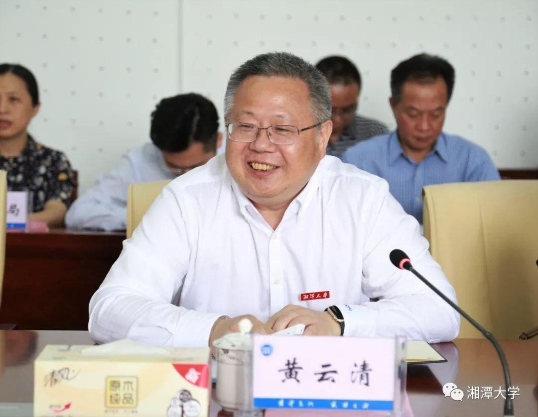 副省长吴桂英来湘大考察