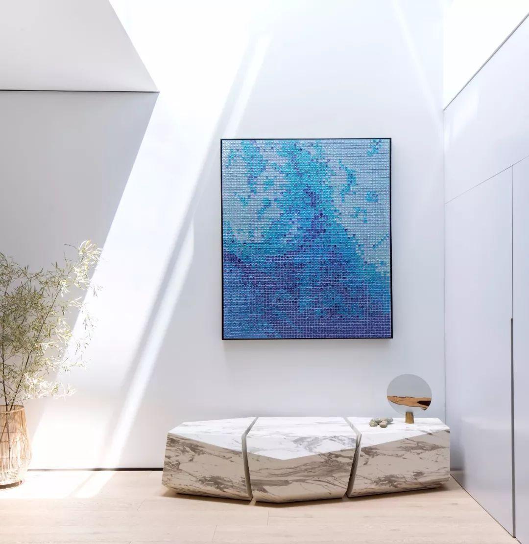 380豪宅设计出了美丽的艺术气息,光与影的组合为空间带来画龙点睛之效