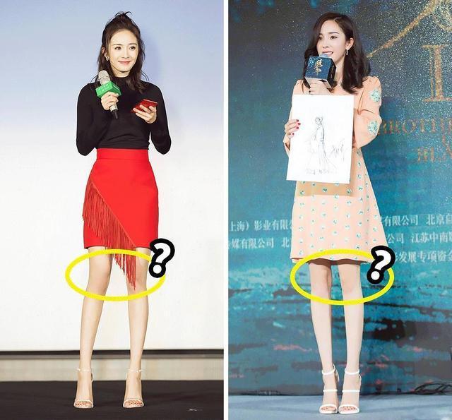 摸着她的大咪咪_长腿大pk,热巴的腿居然还没有刘亦菲的长,杨幂不及孙怡的腿美
