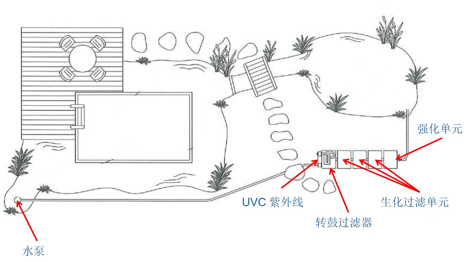 锦鲤池设计图纸长方形