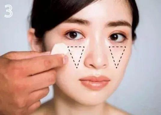 适合亚洲人脸型的修容化妆技巧,打造巴掌脸!