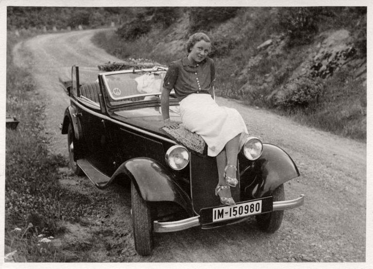 一百大灯德国人就喜欢美人配香车:漂亮型号与德国年前比亚迪f0汽车什么女性图片