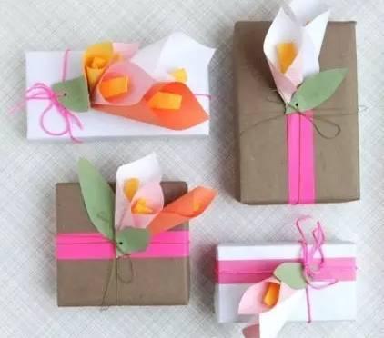 手工制作简单礼物盒
