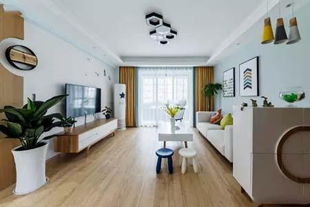 110平米房子北欧风格装修效果图