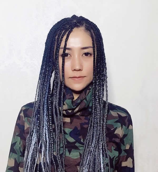 夏天女生脏辫发型设计 释放压力的发型图片