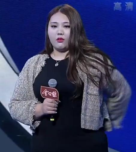 据悉,她的体重在200斤左右.你知道徐梦有多美吗?