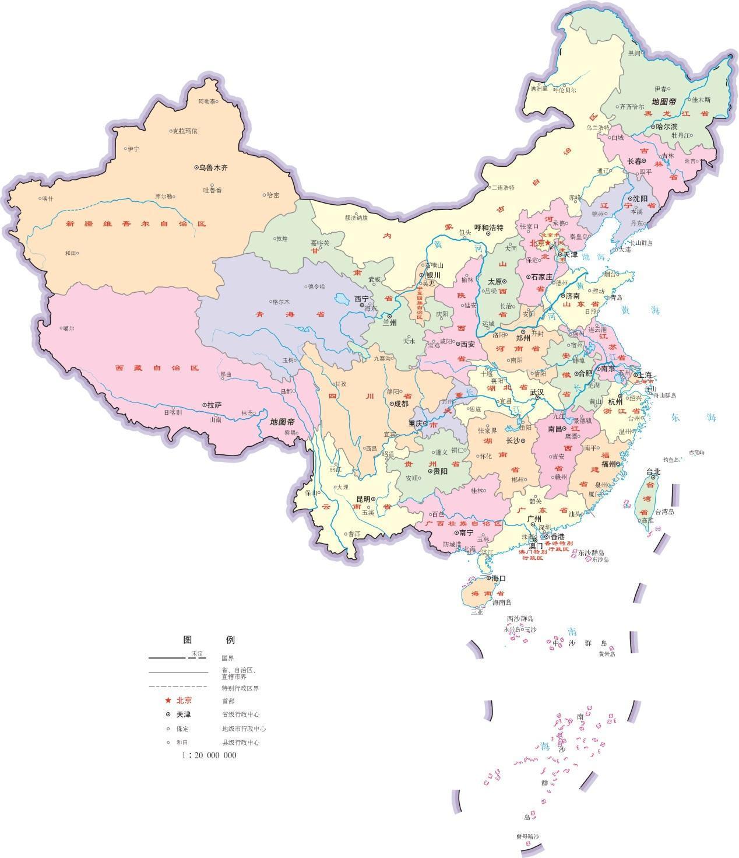 江西省位于长江南岸,和湖南,湖北,安徽,浙江,福建,广东几个省相邻.图片