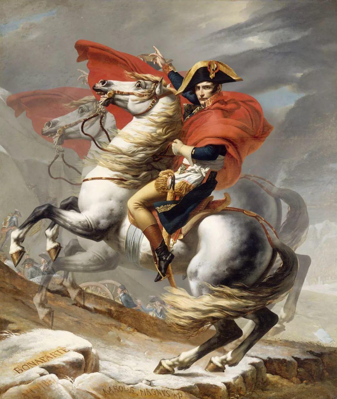 拿破仑最荣耀的战役就藏在这幅画里了 看懂名画