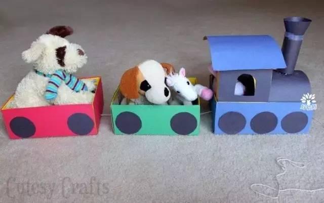 幼儿纸盒手工怎样玩出彩,小纸壳大创意