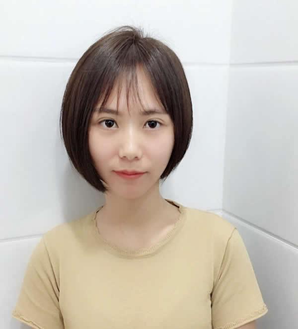 或许你会爱上短发哦 女生最新中短发发型设计图片