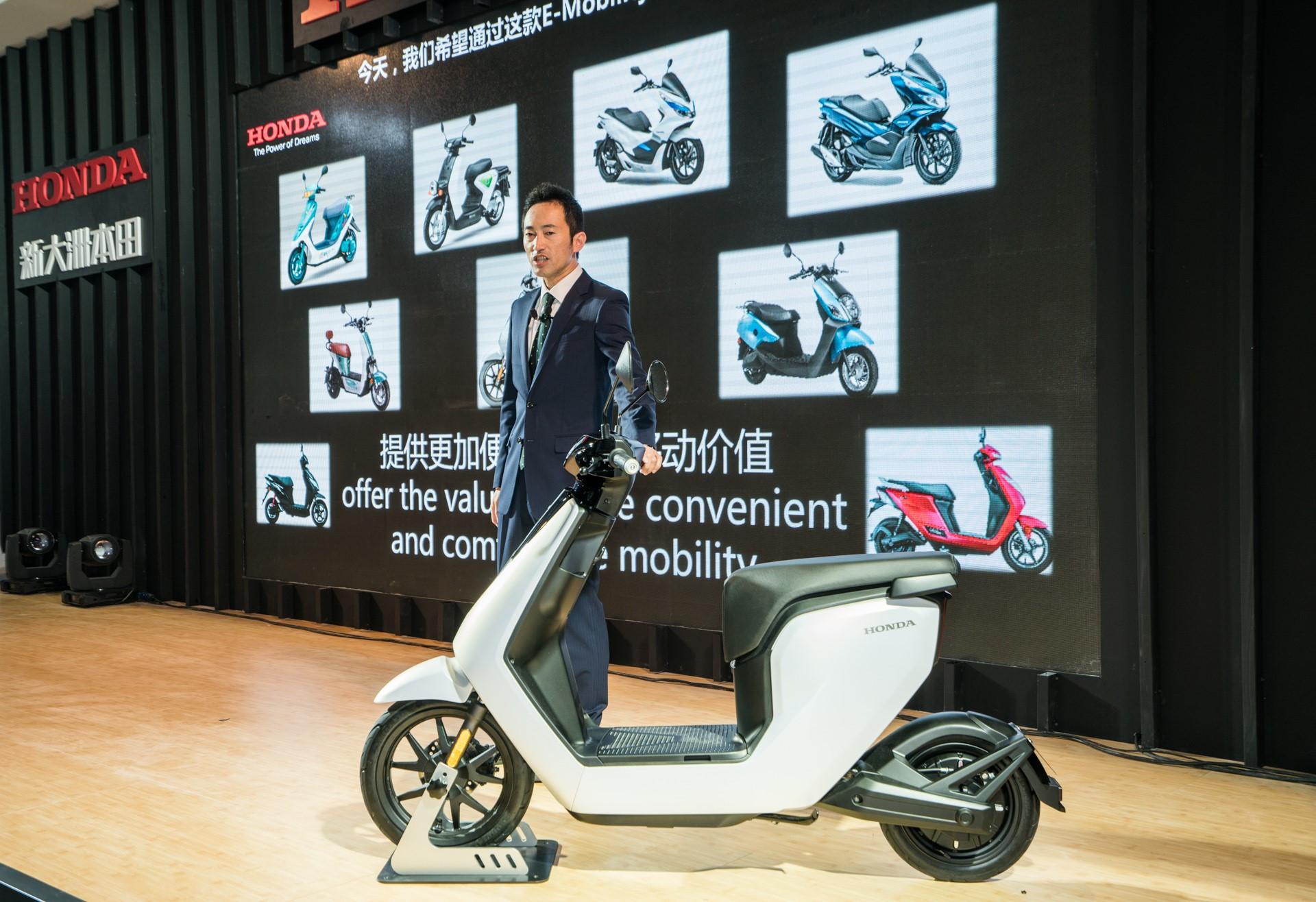 2018上海国际车展本田发布新电动车