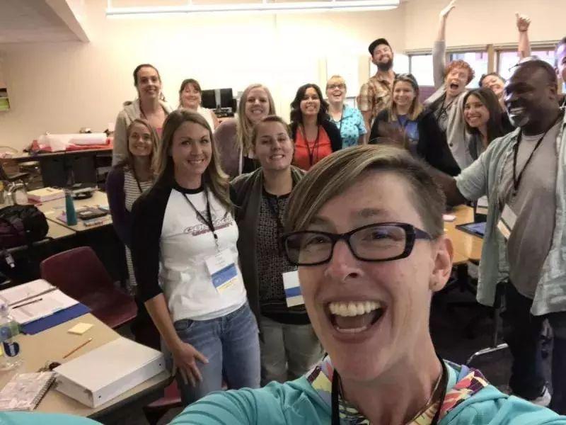 """2018""""美国年度教师""""揭晓,她说:教学就是创造与学生的连结"""