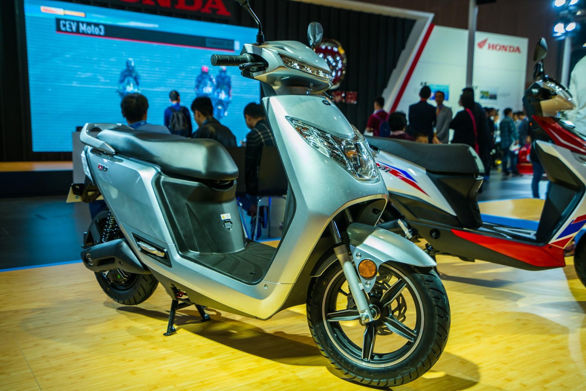上海新大洲本田_2018上海国际摩展 Honda发布新款电动车_搜狐汽车_搜狐网
