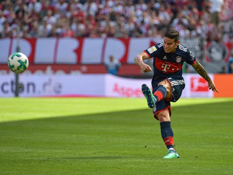 赛季8球14助攻状态出色 J罗:我希望能留在拜仁