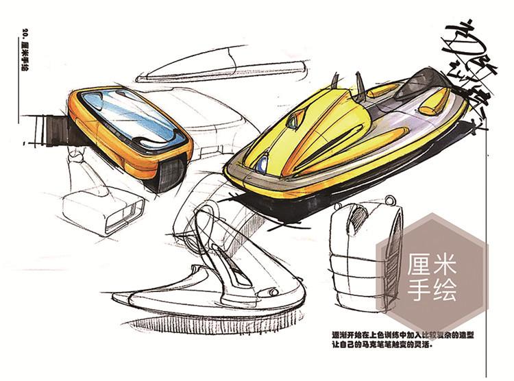 【厘米手绘】南京工业大学产品设计考研快题手绘分享图片