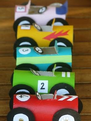 【手工玩具】手工制作各式各样的小汽车,比买的还好玩