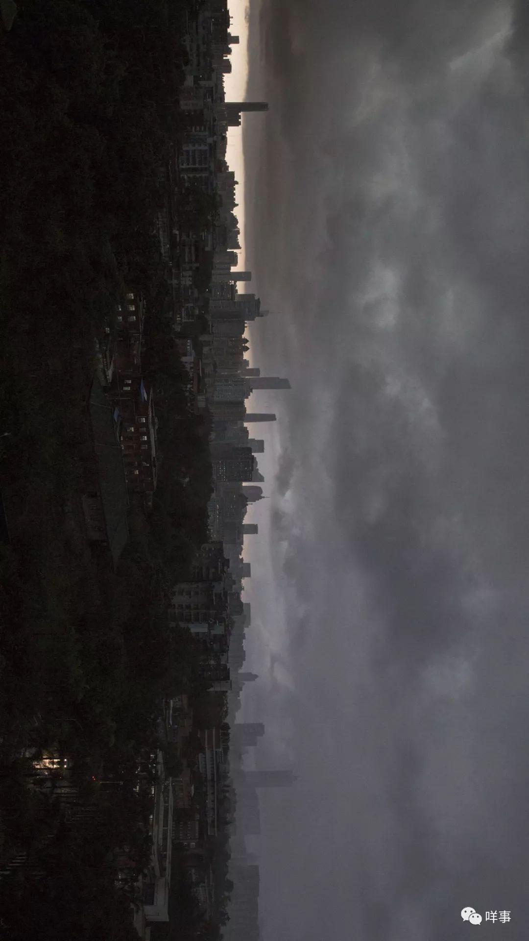 昨晚刷屏的暴雨图片,惊动了广州公安!还炸出一堆戏精……   南都早餐