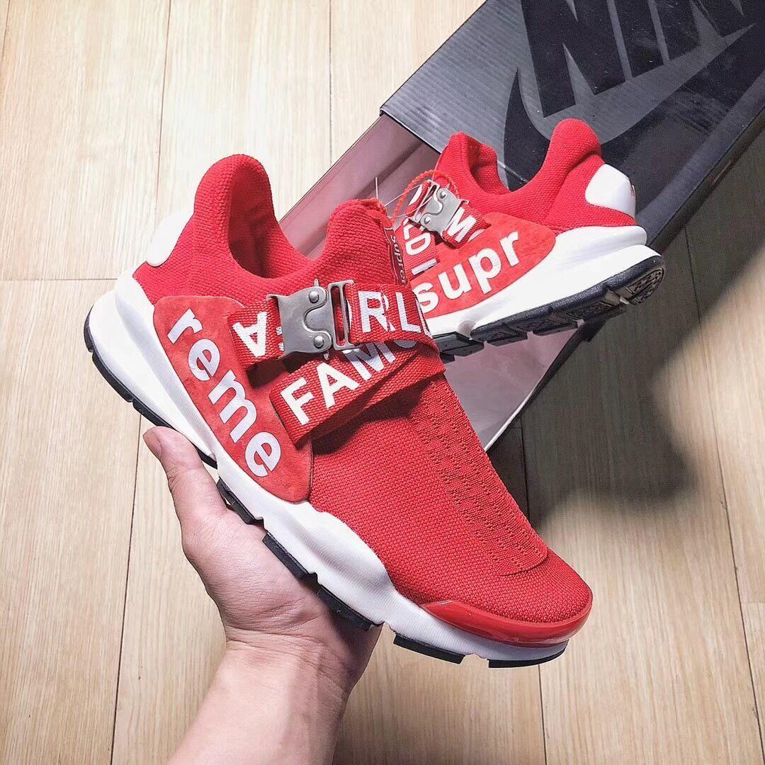 new product 35a5e 26f7c Nike Sock Dart x Supreme 最强联名-今日看点