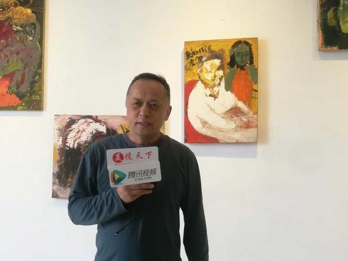"""""""吴震寰和他的未完成绘画""""作品展在京举行"""