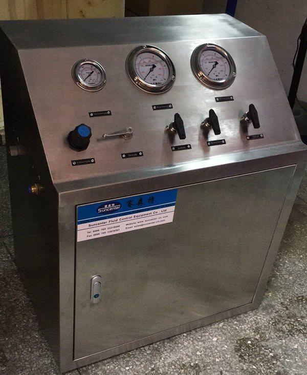 suncenter气动增压设备定制厂家图片