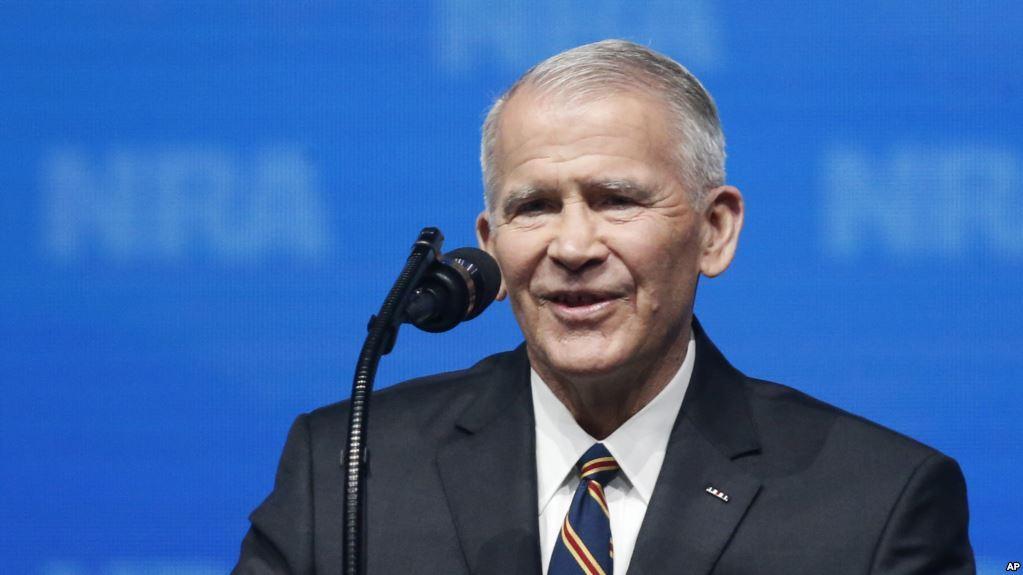 诺斯将任美步枪协会主席 曾涉伊朗军售丑闻