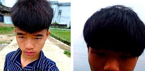 日本男生最近流行锅盖头,真是发型界的一股清流图片