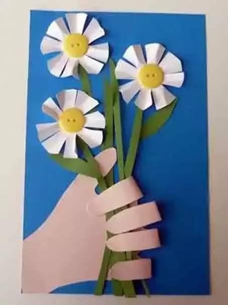母亲节幼儿手工,送给妈妈的礼物 !| 巧手教育
