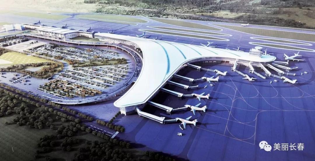 正文  长春龙嘉国际机场二期扩建工程t2航站楼位于现有t1航站楼东侧
