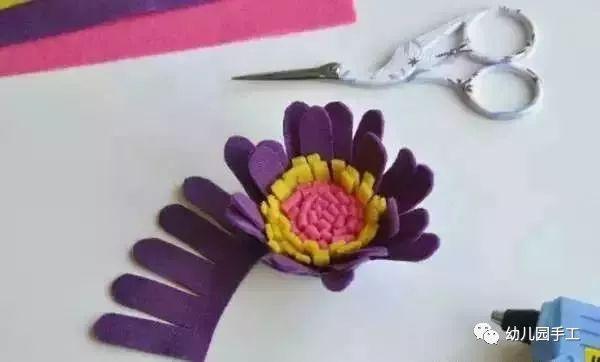 幼儿园手工花制作大全,太美了!一定要收藏起来!