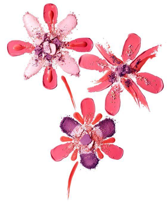 鲜花创意插画亲子diy图片