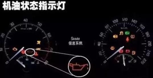 机油压力指示灯 若机油压力不正常时点亮,以提示驾驶人该系统存在