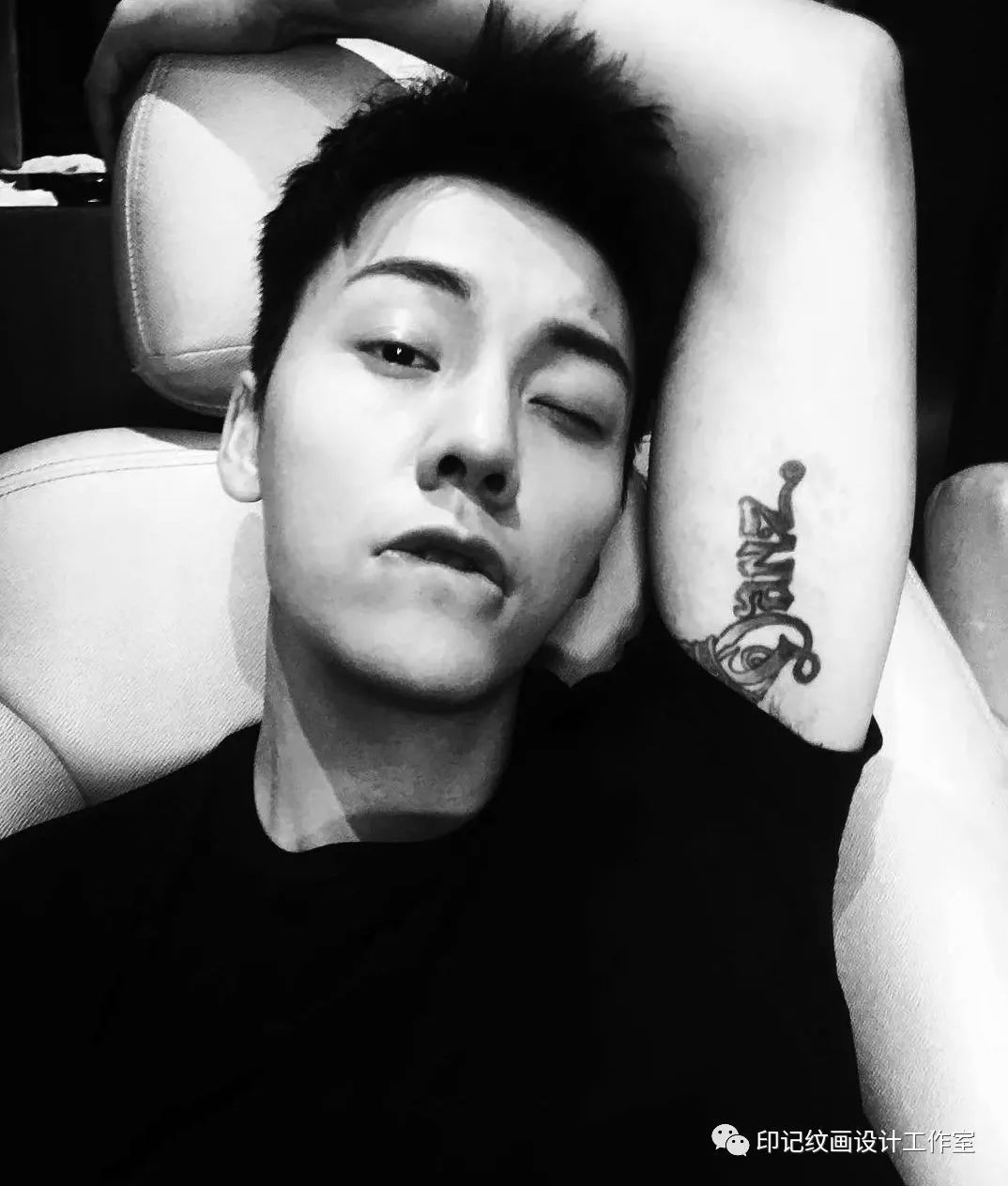 你们yy了陈伟霆的肉体那么久,知道他的纹身都是什么意义吗?图片