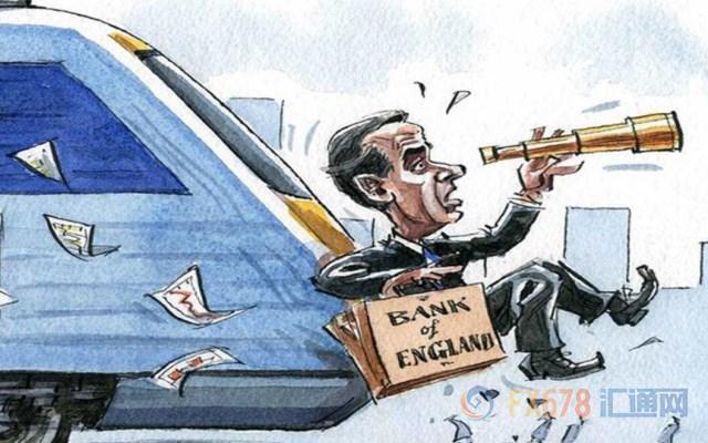 卡尼鸽声大作力避加息,英镑短线扩大失血总跌幅约百点