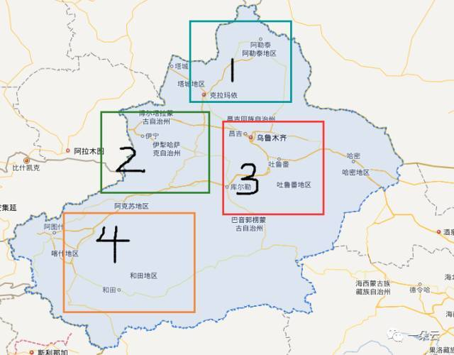 等等等 新疆的 主要的旅游资源分四个区域 1.北疆喀纳斯区域 2.图片